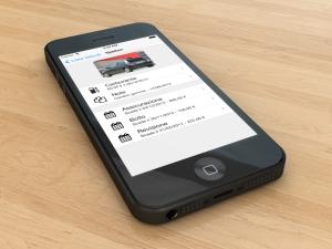 Gestione auto per iPhone